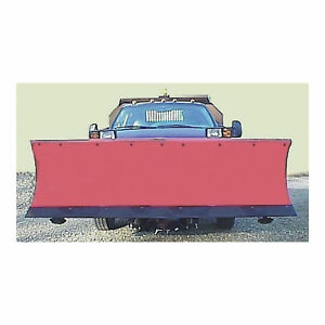 Sam S A M Snowplow Shield Red Model 1310220