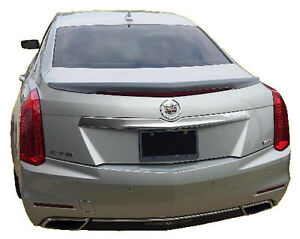 Custom Style Rear Spoiler Painted Fits 2014 2016 Cadillac Cts