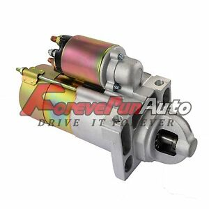 New Starter For Cadillac Chevy Gmc Truck Silverado Express Hummer H2 6 0l 6492