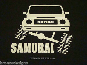 Suzuki Samurai Flexingjx Sami Rock Crawlersticker Decal 06