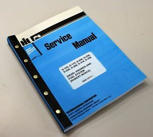Ih Dresser 125 Series C E 125c 125e Crawler Loader Engine Service Repair Manual