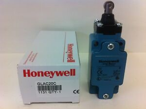 New In Box Honeywell Micro Switch Roller Plunger Style Limit Switch Glac20c
