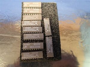 1 Lot 20 Pcs Sn54ls374j Integrated Circuit New Old Stock Nos Unused