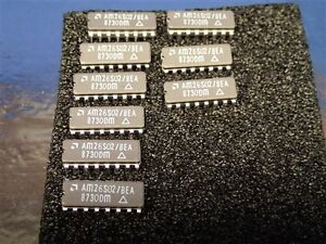 1 Lot 9 Pcs Am26s02 bea Integrated Circuit New Old Stock Nos Unused