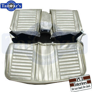 1967 Cutlass Holiday Front Seat Covers Upholstery Pui Interior New