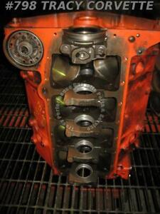 1965 Chevrolet Corvette Engine Bare Block 3782870 327 Dated E 3 5 Other Dates