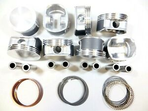 Upgraded Piston premium Ring Kit 020 00 07 5 7l Hemi Chrysler Dodge Jeep V8
