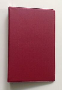 Mead 46001 Small 6 ring Vinyl Loose leaf Memo Notebook With 6 3 4x3 3 4 4pack