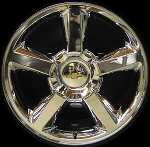 2007 14 Chevy Tahoe Suburban Avalanche Ltz 20 Chrome Wheel Rim Replica 9597685