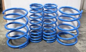 Honda Civic 01 05 D17 Coupe Sedan 1 7l Jdm Lowering Spring Blue Non Si