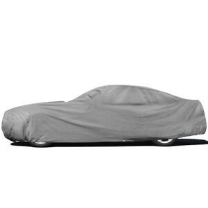 4 layers Full Car Cover For Outdoor Sun Dust Scratch Rain Waterproof Breathable