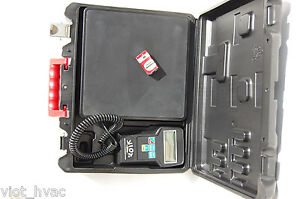 Digital Refrigerant Charging Recovery Scale Accurate 1 4 Oz 220 Lb Capacity Hvac