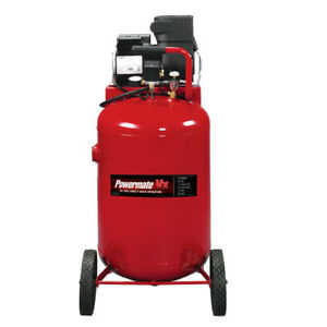 Powermate Vx 30 Gallon Oil free Portable Air Compressor Pla1983012 New