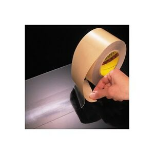 3m 465 Adhesive Transfer Tape Hand Rolls 12 X 60 Yds Clear 4 case