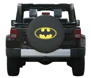Sparecover Universal Batman Logo Spare Tire Cover Wheel 32 33 New Free Shipping