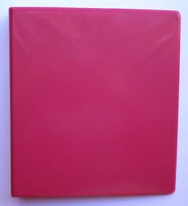Watermelon 3 Ring 1 View Binder 8 5 X 11 Pack Of 6
