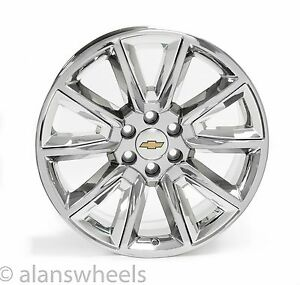 New Chevy Silverado Tahoe Suburban Avalanche Chrome 22 Wheels Rims 5696