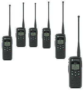 Motorola Dtr550 Digital On Site Two Way Radios 900mhz Qty 6