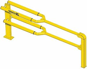 Yellow Gate 11792 xl 42 h Barrier Barricade Traffic Gate adjusts From 6 12