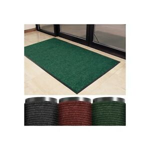 deluxe Vinyl Carpet Mat 3 X 5 Charcoal 1 each