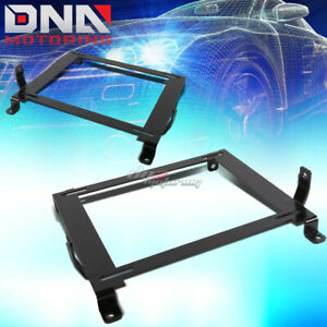 Pair Left right Racing Bucket Seat Down Low Mount Bracket For 06 11 Civic Fg fa