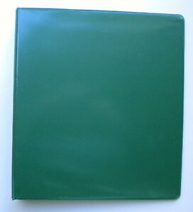 Forest Green 3 Ring 1 View Binder 8 5 X 11 Pack Of 6