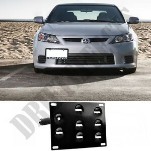 For Scion Tc 11 13 Front License Plate Tow Hook Mounting Bracket Kit Relocation