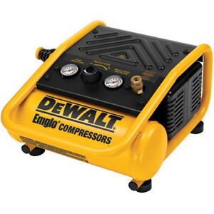 Dewalt 0 3 Hp 1 Gallon Oil free Hand Carry Trim Air Compressor D55140 New