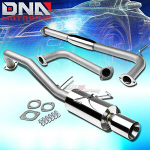 4 Rolled Tip Stainless Exhaust Catback System For 00 03 Nissan Maxima A33 Vq