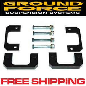 Ground Force 3812 2 2 25 Front Leveling Kit 2007 2013 Chevrolet Silverado 1500