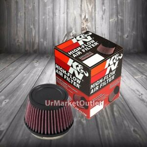 K n 3 5 89 Mm Universal Rubber Cone Centered Round Tapered Air Filter Ru 4410