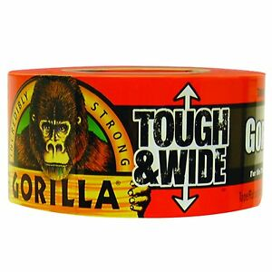 Gorilla Duct Tape 3 x30 Yds Black 1 Roll