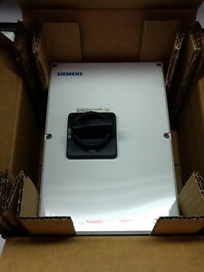 Siemens Hnf3060cj Motor Disconnect Rotary Switch 60a 600v 3 pole New In Box