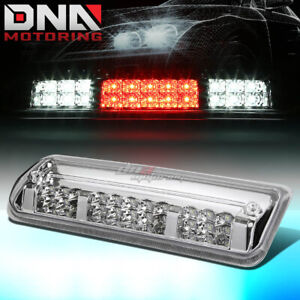 For 2004 2008 Ford F150 2 Row Led Third 3rd Tail Brake Light W Cargo Lamp Chrome