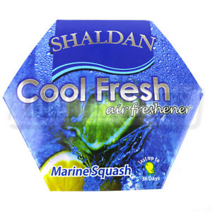 My Shaldan Cool Fresh Air Freshener Marine Squash 60g 2 12oz Jdm Slim Car Auto