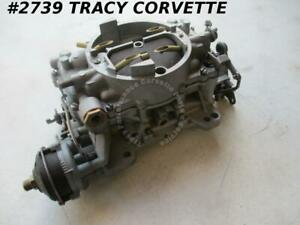 1964 1965 Corvette Used 3851761 300 Hp Carter Afb Carb 3721sa Dated F4 M trans