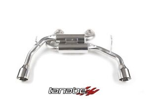 Tanabe Medalion Touring Cat Back Exhaust Q50 2wd 2014 T70176a