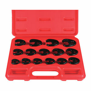 Astro Pneumatic Crowfoot Wrenches 15 pc Set Metric 7115
