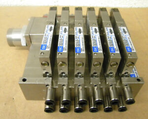 Mac Stainless Solenoid Valve Manifold Assembly