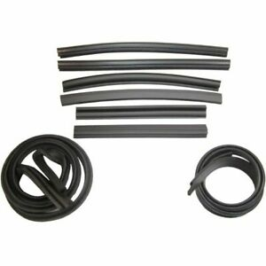 1967 1969 Plymouth Barracuda Dodge Dart Convertible Roof Rail Seal Kit