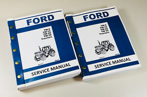 Ford Tw 5 Tw 15 Tw 25 Tw 35 Tractor Service Repair Shop Manual Technical New Oem
