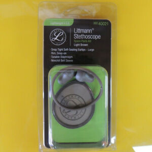 40021 3m Littmann Stethoscope Spare Parts Kit Lightweight Ii S e Brown