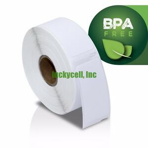 50 Rolls Of 500 Per Roll Multipurpose Labels For Dymo Labelwriters 30336