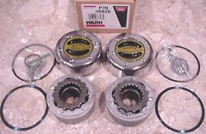 Warn 38826 4wd Premium Manual Locking Hubs 1 Ton Dana Spicer 60 50 Gm Ford Dodge