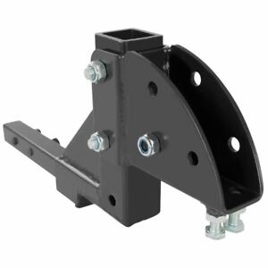 Hitch Mount Mobility Carrier 1 1 4 Class 2 Rise Drop Height Adapter Sc Ha 125