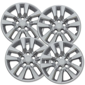 4 Pc Set New 16 Hub Cap Silver Wheel Cover Fits Nissan Altima Quest 02 14