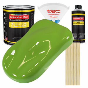 Sublime Green Gallon Kit Single Stage Acrylic Enamel Car Auto Paint Kit