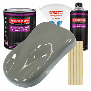Dove Gray Gallon Kit Single Stage Acrylic Urethane Car Auto Body Paint Kit