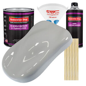 Mesa Gray Gallon Kit Single Stage Acrylic Urethane Car Auto Body Paint Kit