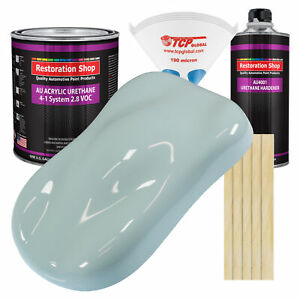 Diamond Blue Gallon Kit Single Stage Acrylic Urethane Car Auto Body Paint Kit